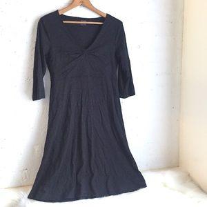Horny Toad black half-sleeve dress
